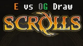 iScrE4m vs Prozac - 1900+ Energy vs Order Growth Draw - Scrolls (Mojang) Ranked Replay
