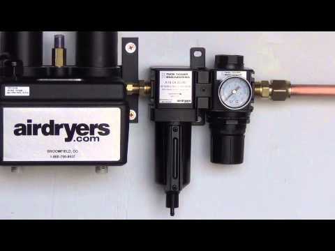 Compressed Air Filters Importance 1 Of 3 Youtube