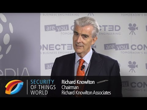 Security of Things World 2017 - Interview Richard Knowlton