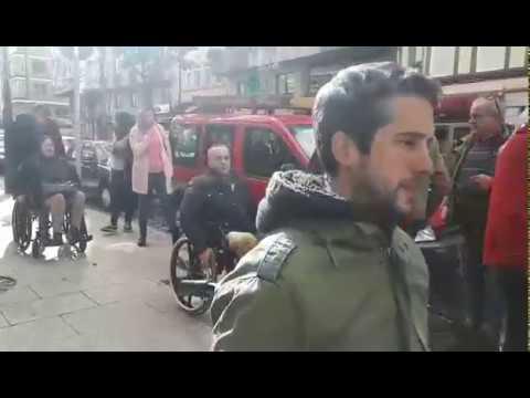 Los candidatos a la Alcaldía de Lugo conocen los problemas de accesibilidad