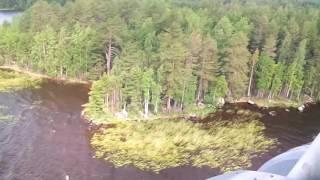 Облет Сямозера в Карелии(Видео МЧС., 2016-06-26T12:59:05.000Z)