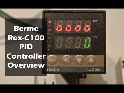 Berme REX-C100 PID Temperature Controller - YouTube