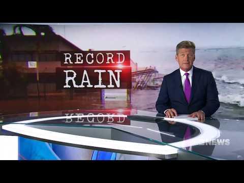 Broome Record Rainfall   9 News Perth