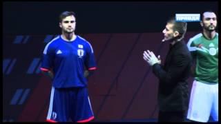 adidas представил новую форму  сборной России по футболу