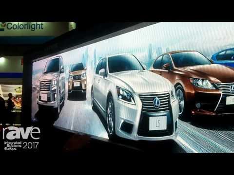 ISE 2017: Shenzhen Liantronics Talks About LED Display