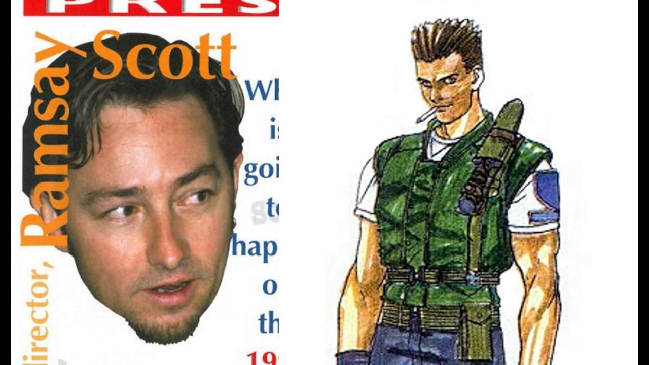 Scott Mcculloch As Chris Redfield Voice Resident Evil 1996