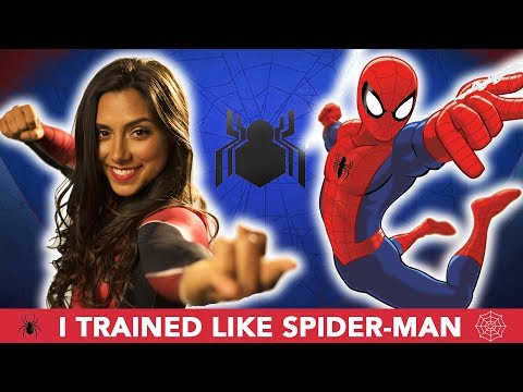 Thumbnail: I Trained Like Spider-Man For A Month 🕷