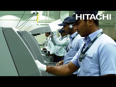 Hitachi Terminal Solutions facility in Bangalore - Hitachi