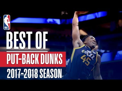 Best Putback Dunks of the 2018 NBA Season! Jaylen Brown, Damian Lillard and Anthony Davis