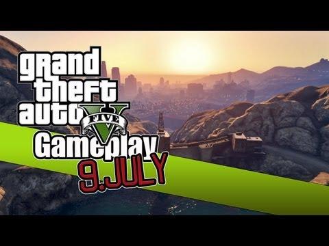 GTA V Gameplay - 9. Juli 16 Uhr deutsche Zeit ! Ankündigung !!