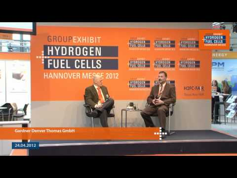 Gardner Denver Thomas GmbH at the 18th Group Exhibit Hydrogen + Fuel Cells