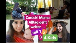 VLOG| Mama Alltag mit 4 Kindern| Hamburg Haul| Spielsachen für den Sommer| Baby & Familien Zeit
