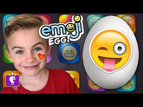 Giant Emoji Surprise Egg by HobbyKidsTV