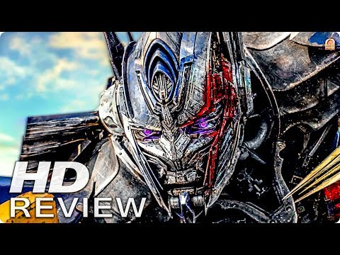 TRANSFORMERS 5: THE LAST KNIGHT Kritik Review 2017