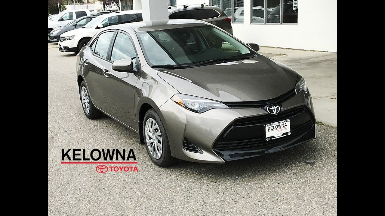 2019 Toyota Corolla Le Falcon Grey Youtube