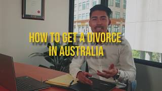 Australian Lawyer - How to get a divorce in Australia
