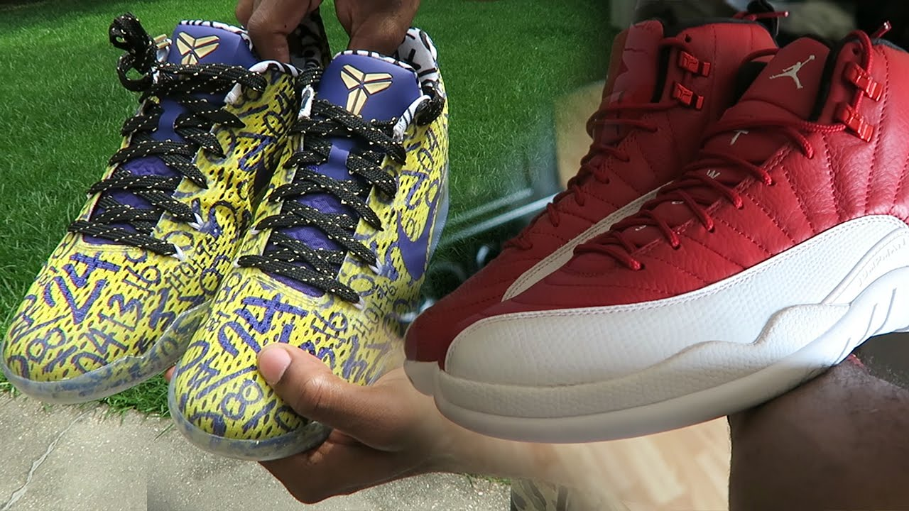 huge discount fe28b 0a789 MY CUSTOM LIMITED KOBES 11's! GOT SCAMMED FAKE GYM RED JORDAN 12's!