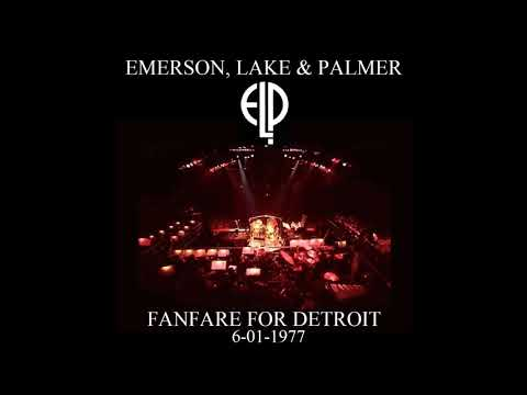 Emerson, Lake & Palmer (ELP) Live with Orchestra in Detroit, MI 6/01/1977