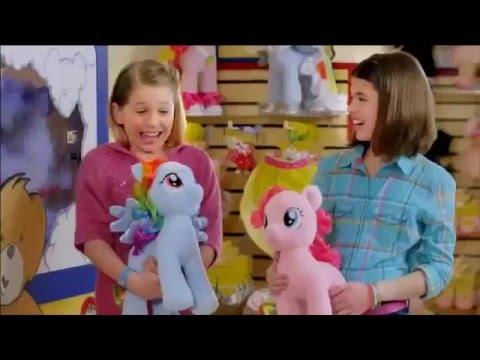 MLP Build-A-Bear Rainbow Dash & Pinkie Pie Commercial