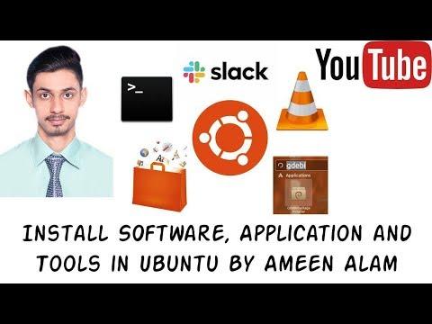 How To Install Software In Ubuntu In Urdu And Hindi