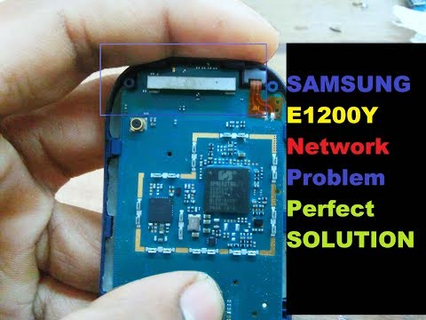 Samsung E1200y Network Solution Latest
