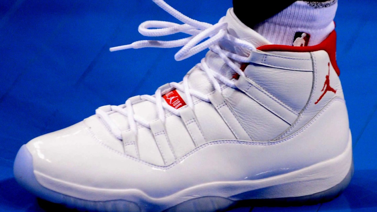 reputable site 4161e 0e402 Chris Paul Spotted in New Air Jordan 11 PE During shootaround in OKC