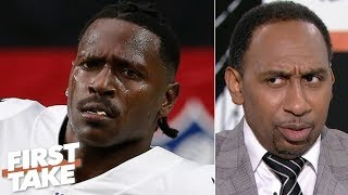 Antonio Brown has 'acted like a clown,' lied and embarrassed himself - Stephen A. | First Take