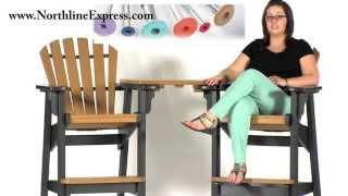 Breezesta Maintenance Free Patio Furniture - The Cedar Breezesta Tete-a-tete Table Top