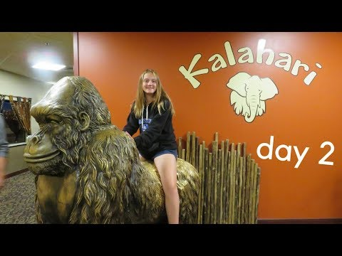 Mini Golf, Hamilton, And More || Kalahari Day 2