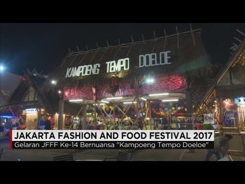 Jakarta Fashion and Food Festival 2017