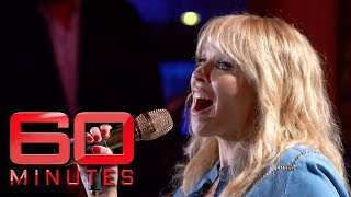 LIVE Kylie Minogue performs new song Golden  60 Minutes Australia