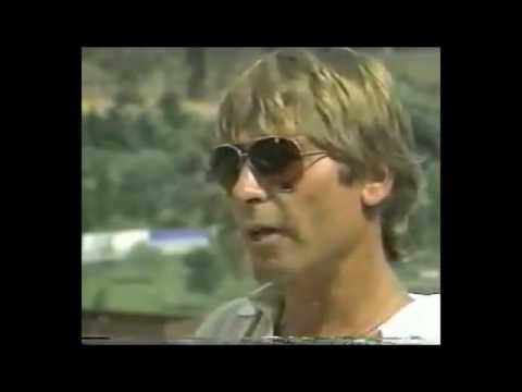 John Denver / An interview with John before a concert outdoors [1985]