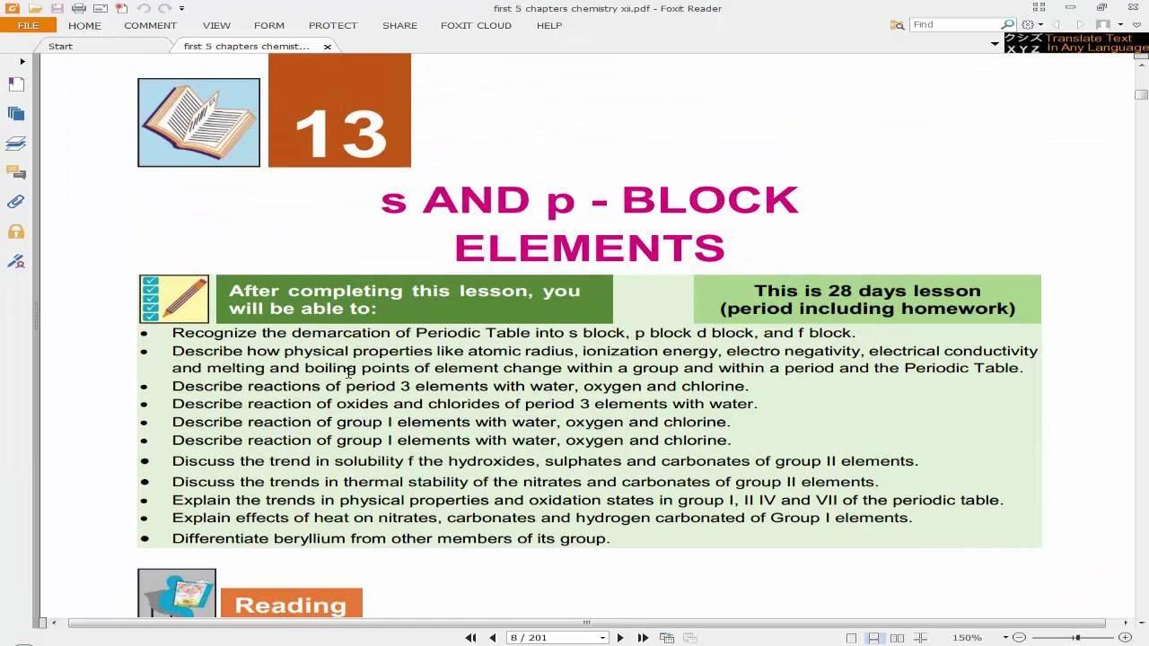 Lecture 1: Period 3 Properties | 2nd Year FBISE Chemistry (Urdu)