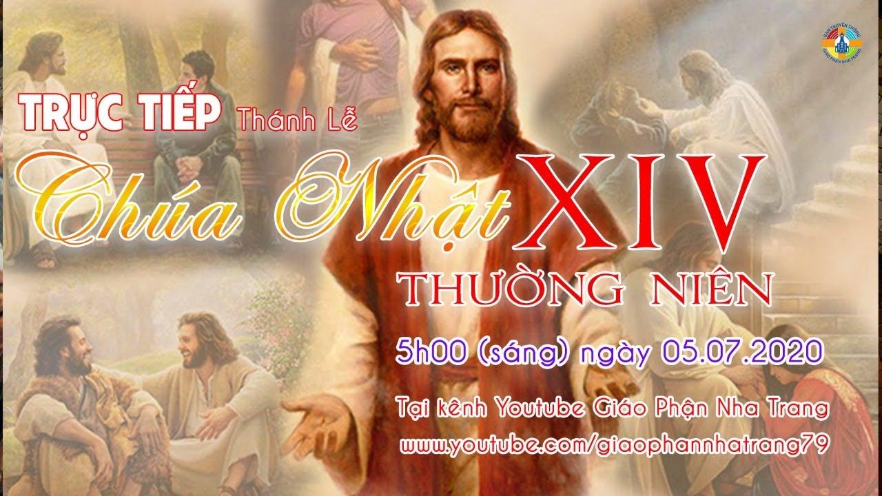 ✔️ TRỰC TIẾP: Thánh lễ CHÚA NHẬT XIV Thường niên - 5h(sáng) ngày 05.07.2020 tại TGM Nha Trang