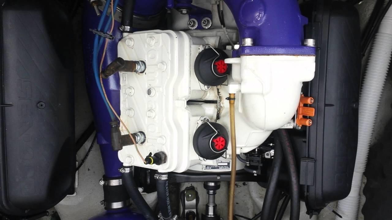 1997 Seadoo Challenger 1800 motor startup 2016