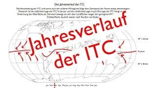 Der Jahresverlauf der ITC (ITCZ)