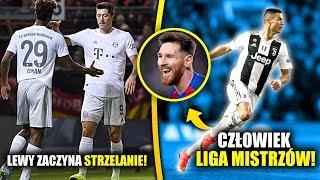 Pierwszy GOL Lewandowskiego! Ronaldo PORÓWNUJE się do Leo Messiego?
