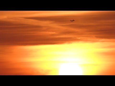 London Heathrow Airport Plane Spotting *SUNRISE*