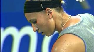 Tatiana Golovin Hopman Cup Sweaty