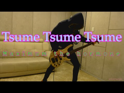 Maximum the hormone - Tsume Tsume Tsume 爪爪爪予襲復讐ver. [Bass cover]