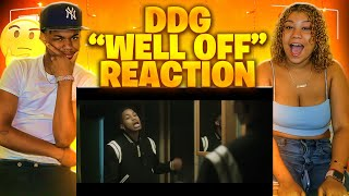 DDG - Well Off (Official Music Video)REACTION