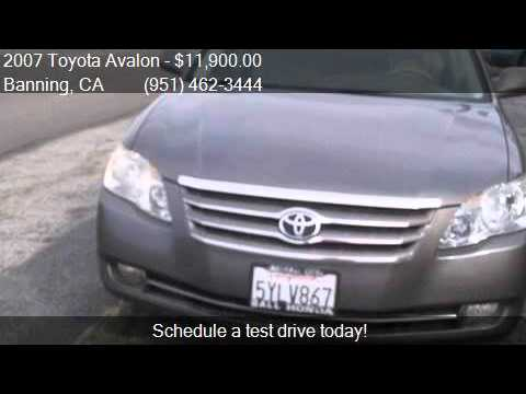 2007 Toyota Avalon XLS for sale in Banning, CA 92220 at Affo
