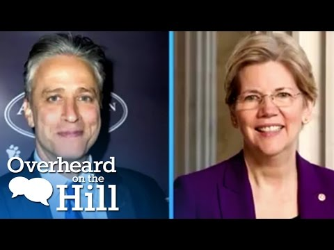 Elizabeth Warren & Jon Stewart Make Out? | Overheard On The Hill | msnbc