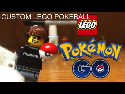 How To Make A Lego Pokeball Youtube