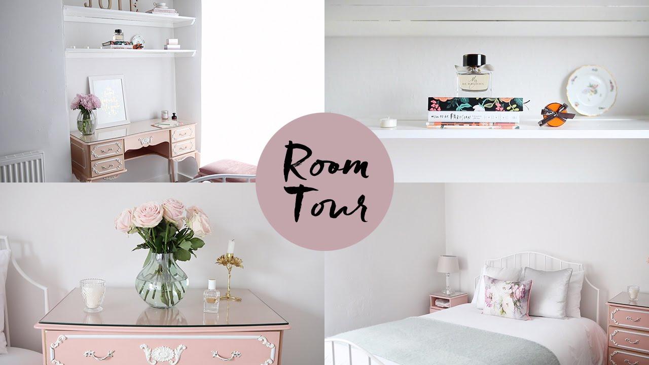 Room tour je vous montre ma chambre youtube for Cuarto de zanty ferry