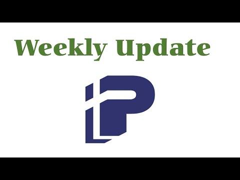 Weekly Update for week of August 30, 2021