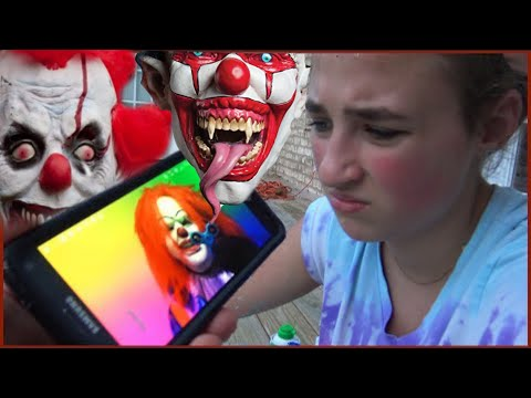 Scary Clown Steals Fidget Spinner and Sends Creepy Videos Texts