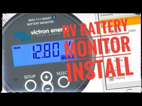 WOW! Did this just happen!?? - Victron Energy Battery Monitor Install.