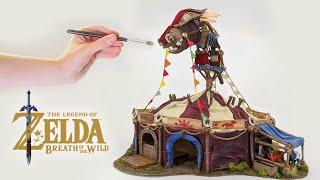 Breath of the Wild Stable DIY Craft // Zelda terrain for D&D, Tabletop, RPG