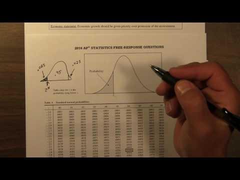 2016 AP Statistics 5 Free Response Question Solution FRQ